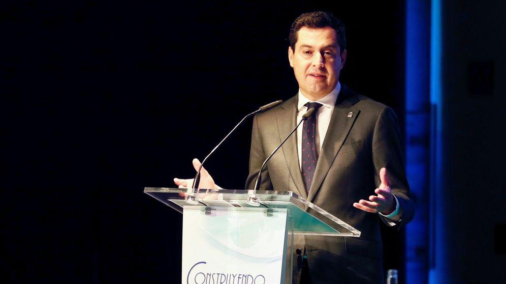 Foto: Juanma Moreno, presidente de la Junta. (EFE)