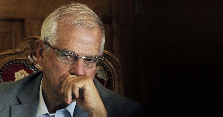 Foto: El expresidente del Parlamento Europeo y exministro socialista Josep Borrell. (EFE)