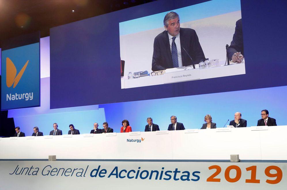 Foto: Junta general de accionistas de Naturgy. (EFE)