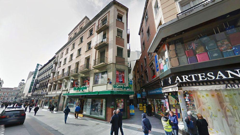 Foto: Antiguo edificio de El Corte Inglés ubicado en la calle Preciados 9.