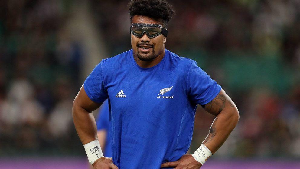 La estrella de los 'All Blacks' que ha jugado ciego de un ojo en el Mundial de rugby
