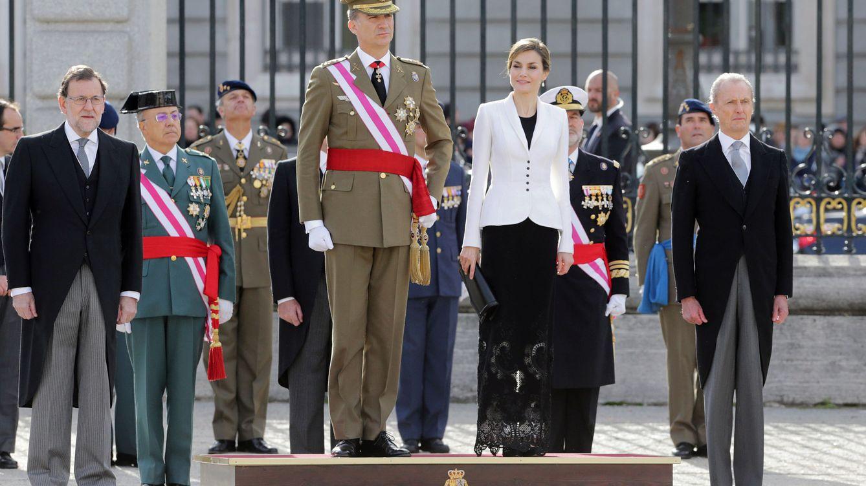 Foto: Los Reyes presiden la Pascua Militar de 2016 (Gtres)