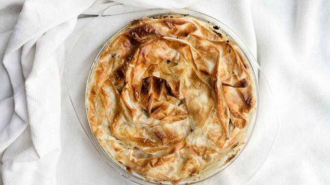 Pastel de pollo con masa filo, un entrante sabroso y muy británico