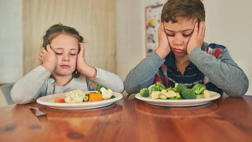 La mejor forma de convencer a tus hijos de que coman verduras