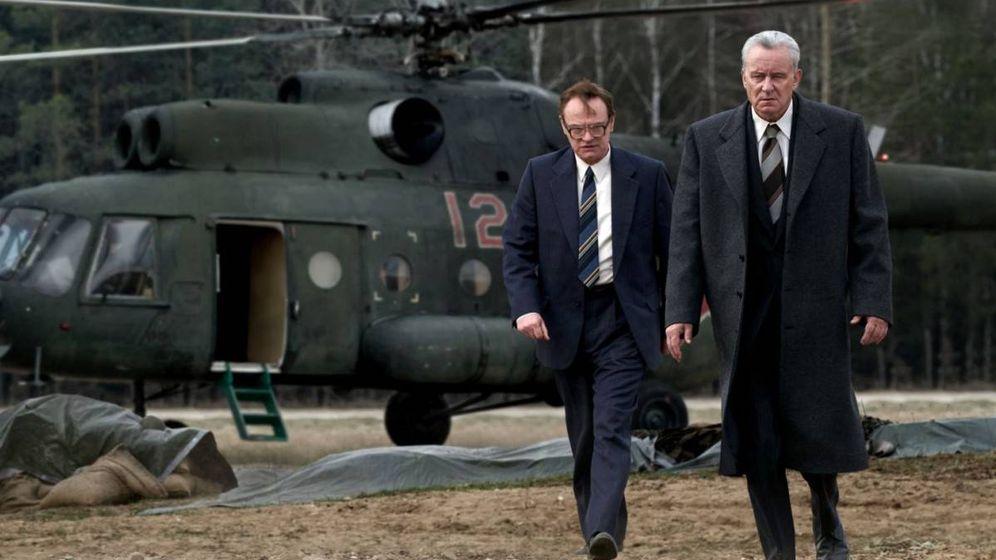 Foto: Imagen de los protagonistas de 'Chernobyl'. (HBO)
