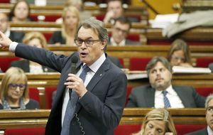 Artur Mas ofrece 'bacon' vegetal