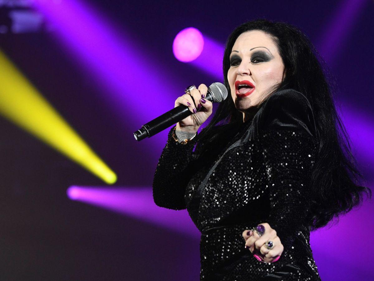 Foto: La artista, durante uno de sus últimos conciertos. (EFE)