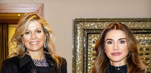 Post de La frescura de Máxima vs. la artificiosidad de Rania en su encuentro en Jordania