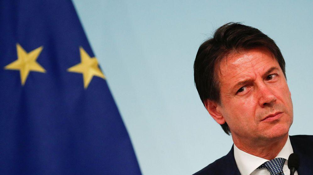 Foto: El primer ministro de Italia, Giuseppe Conte, durante una rueda de prensa en Roma. (Reuters)