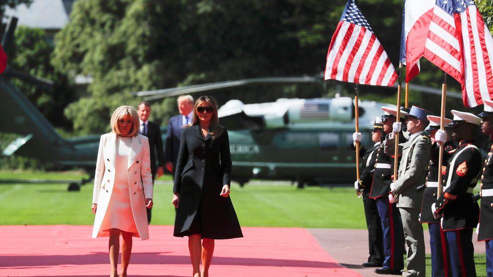 Melania Trump y Brigitte Macron: más amigas que primeras damas
