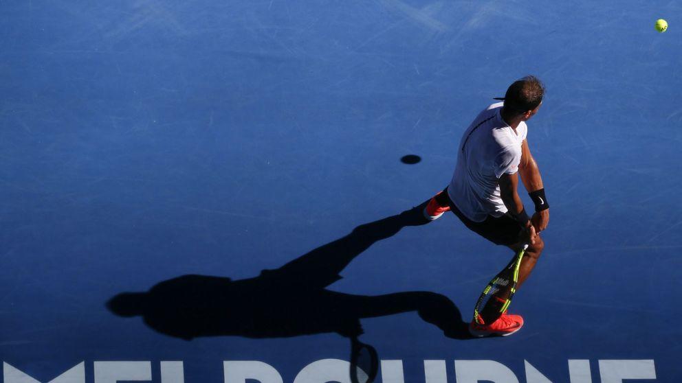 Nadal se impone en un festival de tenis contra Zverev que llegó al quinto set