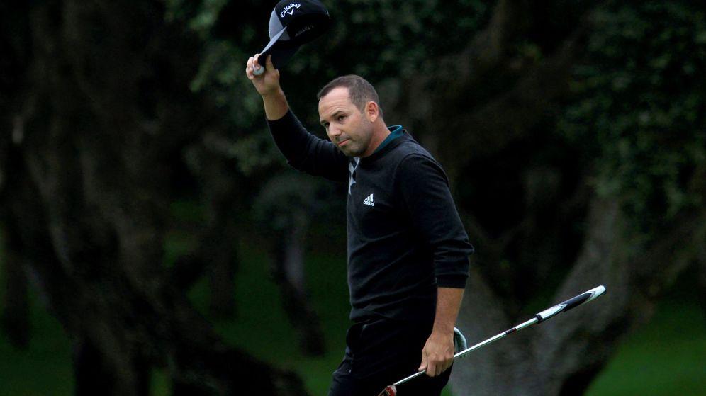 Foto: Sergio García fue expulsado de un torneo en Arabia Saudí. (EFE)