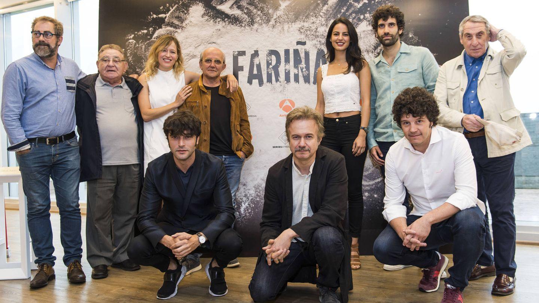Actores de 'Fariña', la nueva serie que prepara Antena 3. (Atresmedia Televisión)
