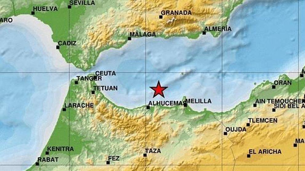 Nuevo terremoto de 5,1 en el mar de Alborán, entre Melilla y Alhucemas