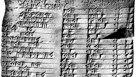 La tabla babilónica de hace 3.000 años que guarda secretos matemáticos