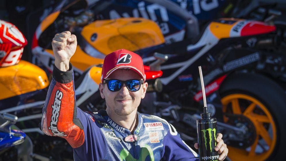 Foto: Jorge Lorenzo, campeón del mundo de MotoGP (Cordon Press).