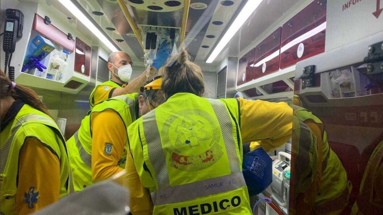Herido muy grave tras recibir un fuerte puñetazo en la plaza de Lavapiés (Madrid)