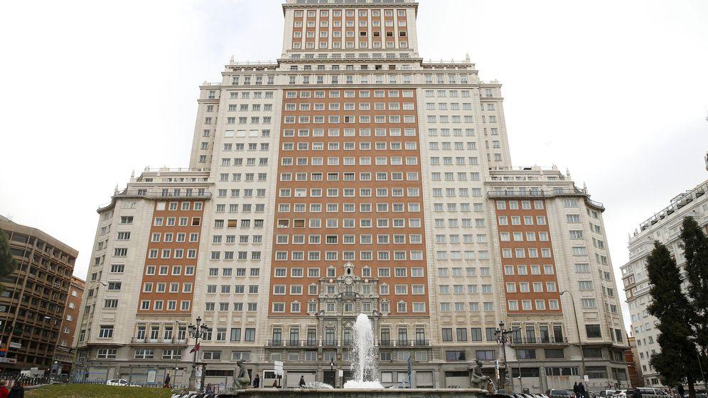Foto: La plaza de España en Madrid. (EFE)