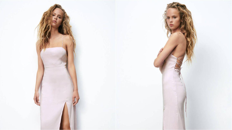 Vestido de Zara para las novias más atrevidas. (Cortesía)