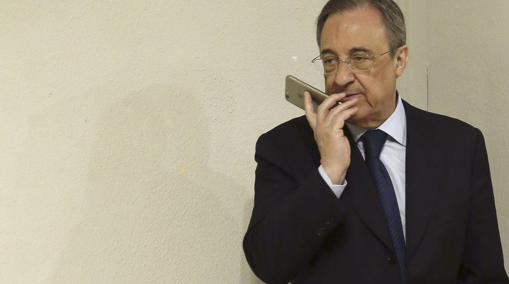 Real madrid florentino p rez se presenta en china con la for Real madrid oficinas telefono