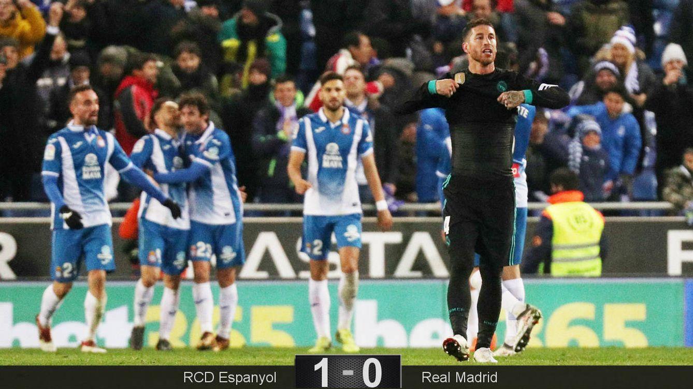 Foto: Ramos cuajó un partido nefasto. (Reuters)