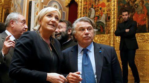 Registran la sede del partido de Le Pen por presunto fraude con fondos de la UE