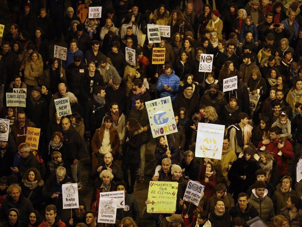 Foto: Imagen de la manifestación en Madrid. (EFE)