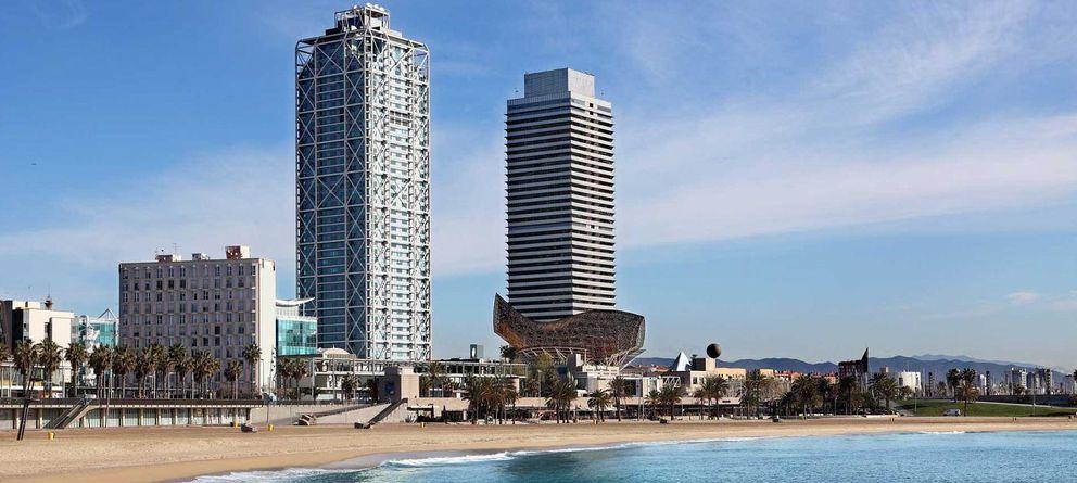 Foto: Vista del Hotel Arts desde el mar