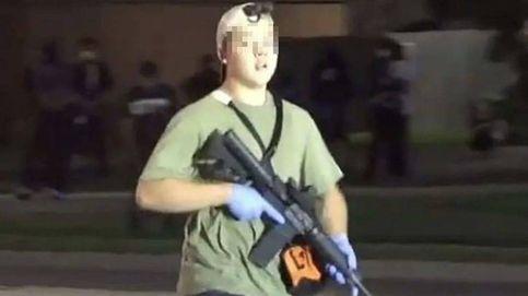 Cargos contra el menor que mató a dos personas en los disturbios de Wisconsin