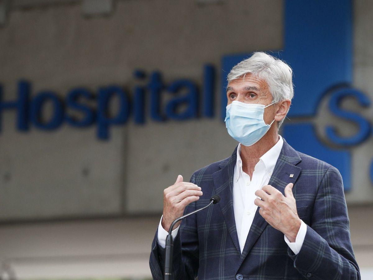 Foto: El 'conseller' de Salud, Josep María Argimon. (EFE)