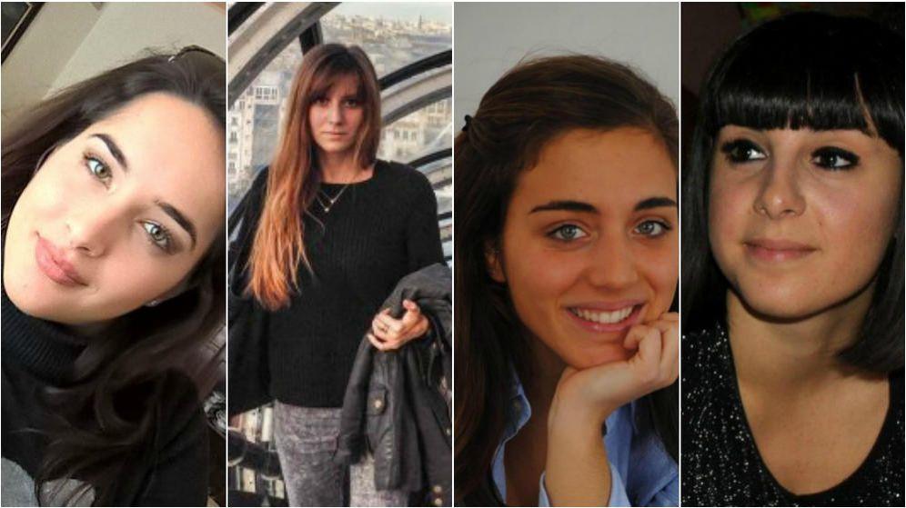 Foto: Elena Maestrini, Serena Saracino, Francesca Bonello y Valentina Gallo. (EC)