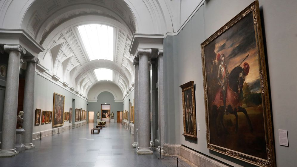 Foto: Interior del Museo del Prado, en Madrid. (EFE)