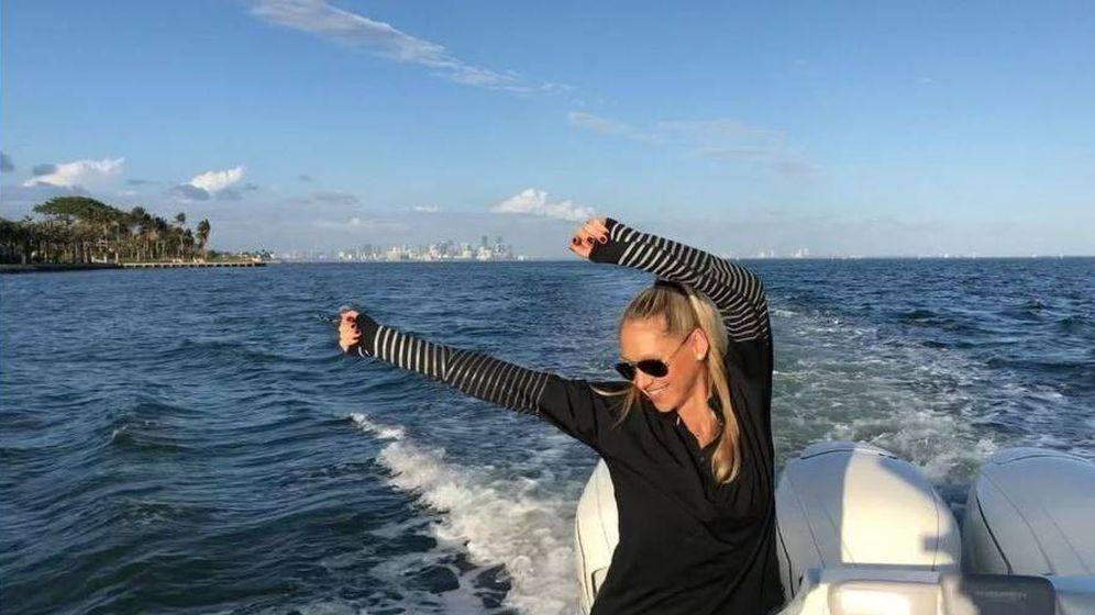 Foto: La tenista Anna Kournikova en una imagen de su perfil de Instagram.