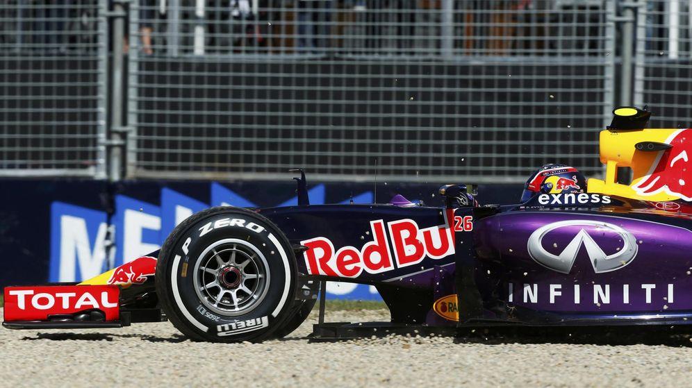 Foto: Daniil Kvyat, en el Gran Premio de Australia (Red Bull).