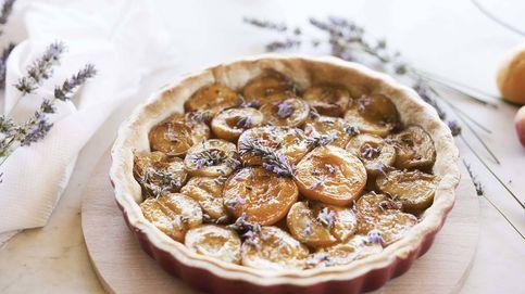 Tarta de albaricoques y lavanda: sinfonía de fruta y flores