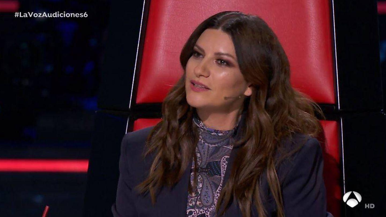 Laura Pausini, 'coach' de 'La voz'. (Atresmedia Televisión)