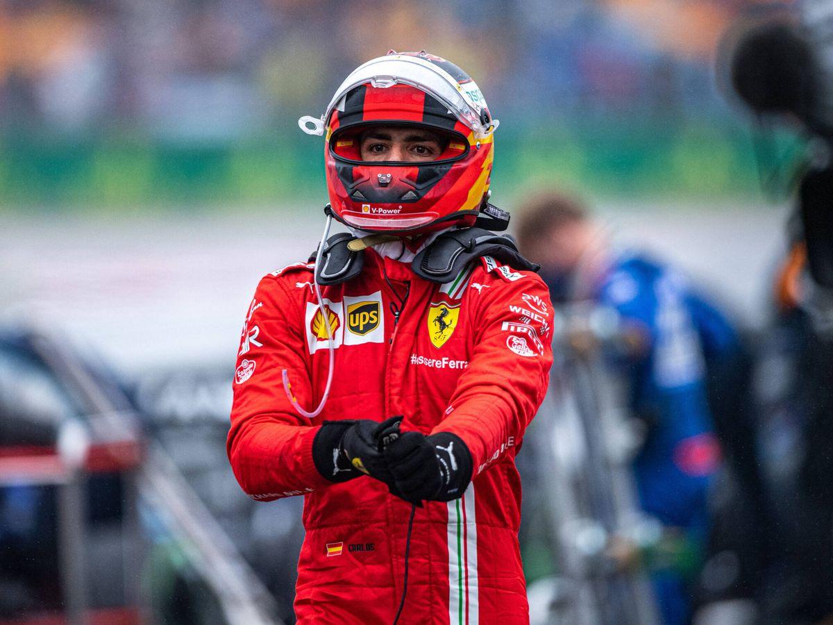Foto: Carlos Sainz ha puntuado en 14 de las 16 pruebas. (Reuters)