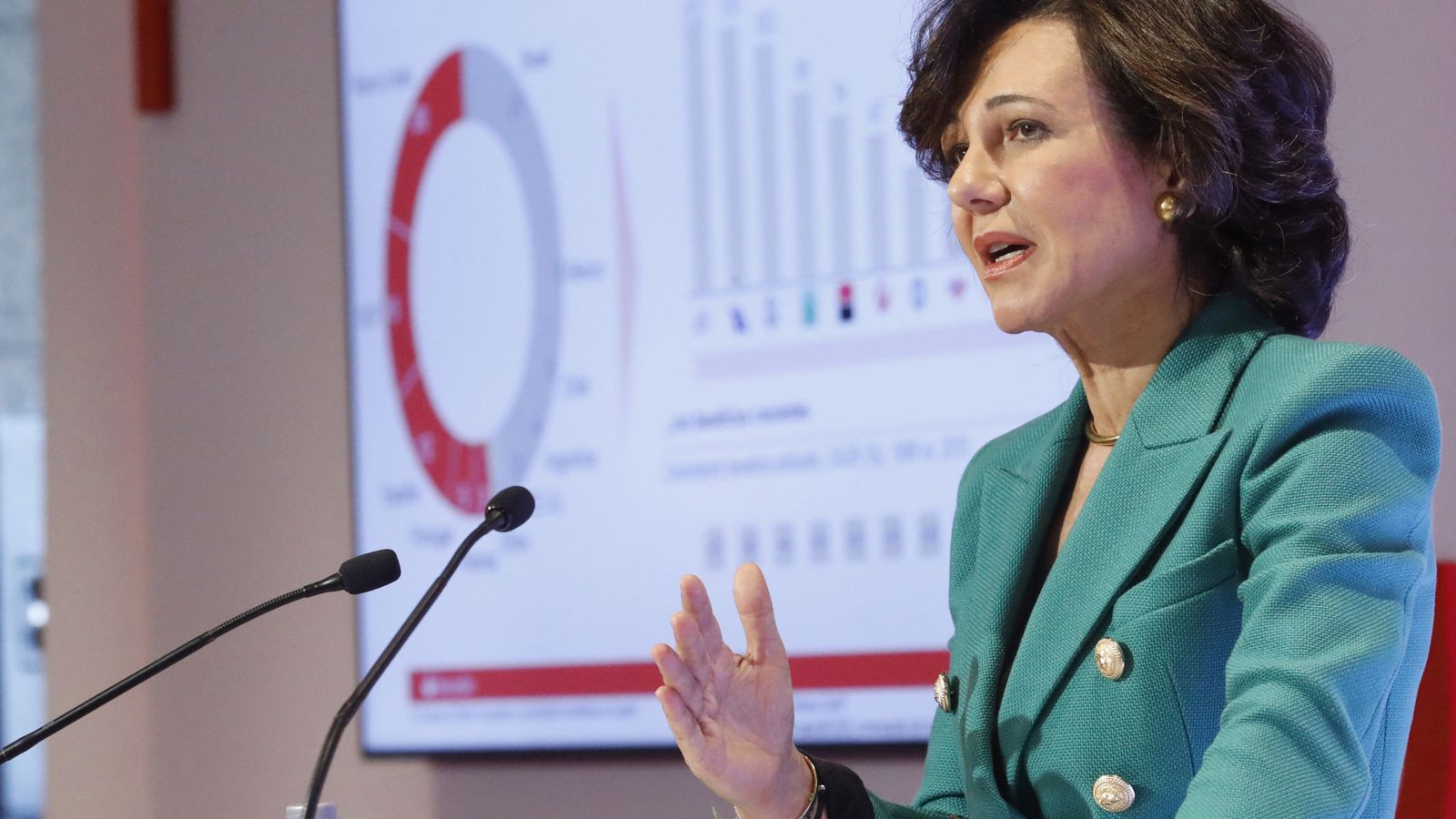 Foto: La presidenta del Santander, Ana Botín. (EFE)
