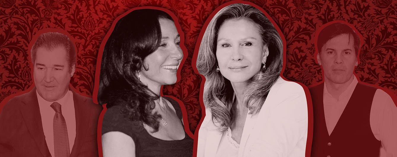 Foto: Esther y Alicia Koplowitz, en un fotomontaje realizado por 'Vanitatis'