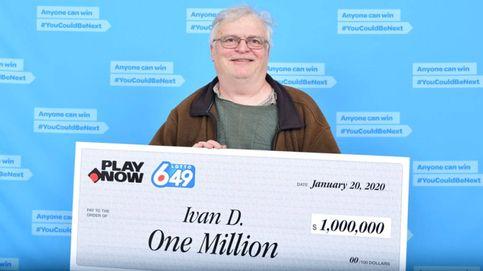 Gana la lotería y no puede dejar de trabajar durante dos meses para cobrarlo