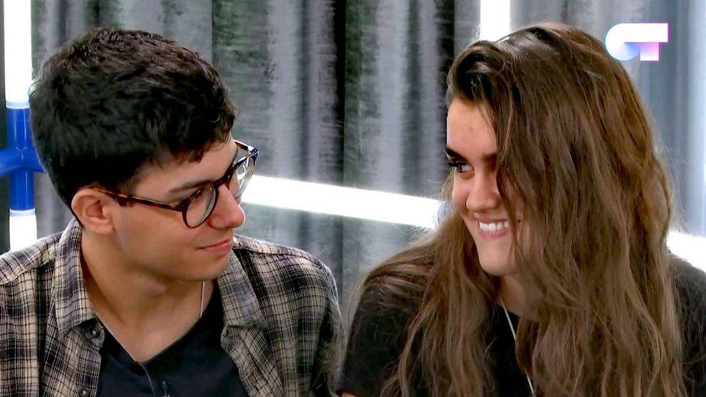 'Operación Triunfo 2017': Amaia y Alfred se besan durante los ensayos