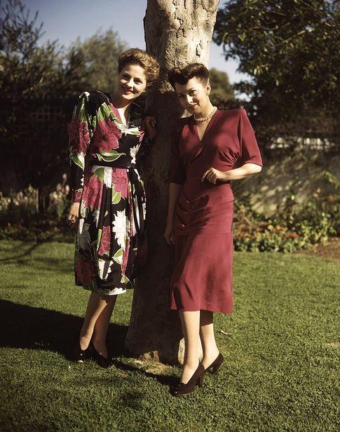 Foto: Las dos hermanas, en una fotografía de archivo (I. C)