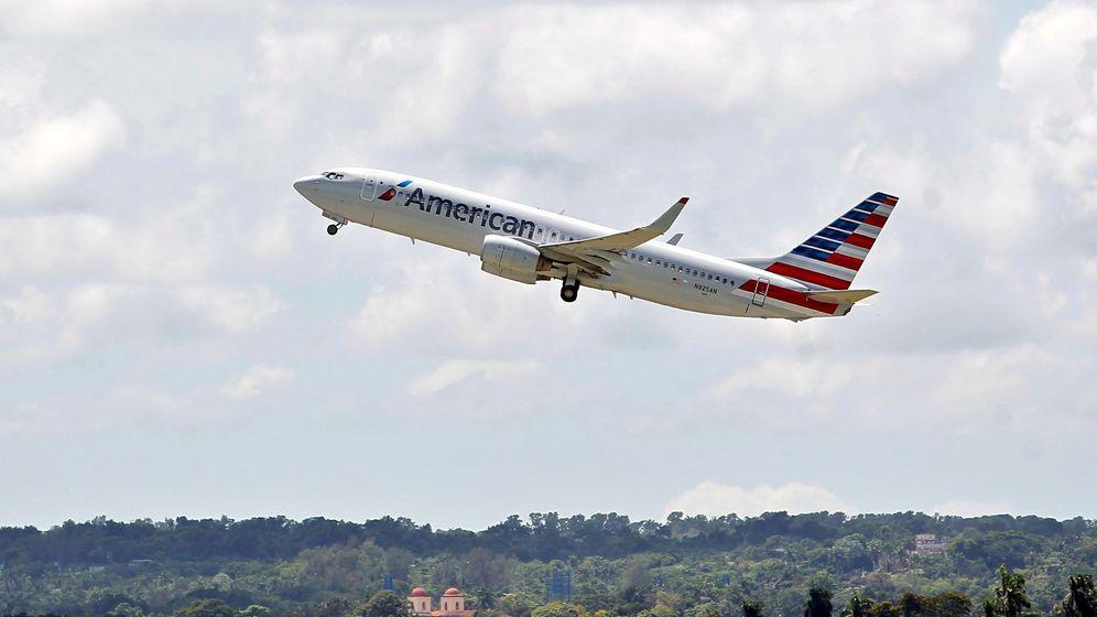 Foto: Un avión despega del aeropuerto de La Habana (Cuba). Foto: EFE Yander Zamora