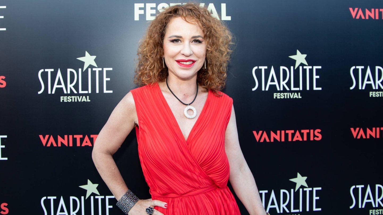 Vicky Larraz, en Starlite el pasado verano. (Cortesía)
