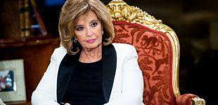 Post de María Teresa Campos tiene patrimonio suficiente para quedarse en el paro