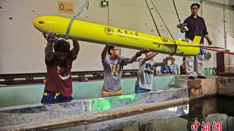 Foto: Un drone submarino Haiyan (ChinaNews.com)