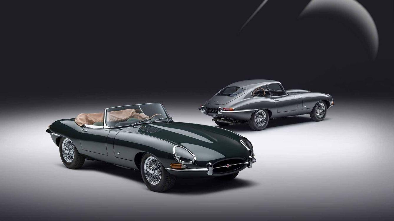 Jaguar celebra el 60 aniversario del E-Type con dos unidades restauradas