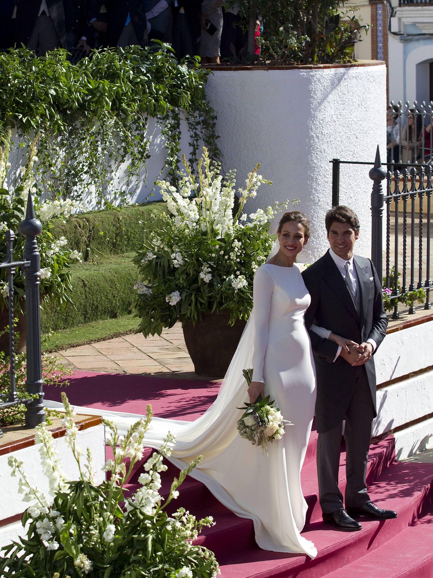 La boda de Cayetano y Eva. (Getty)