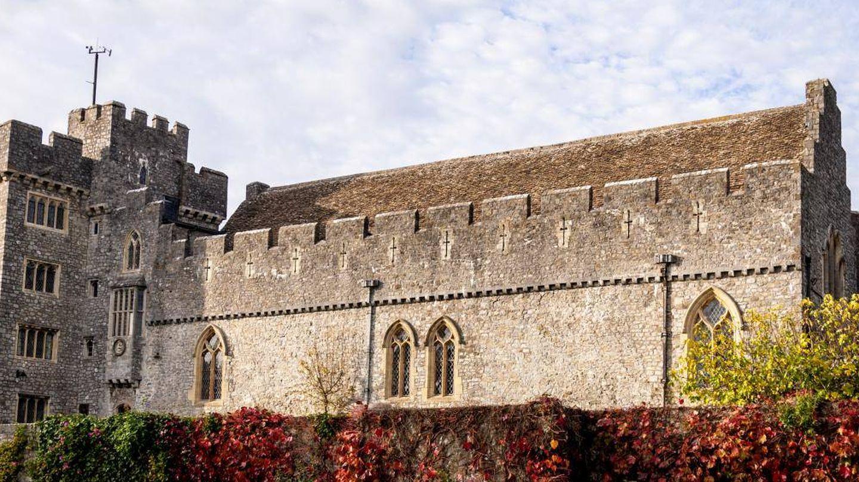 El castillo de St. Donat's.