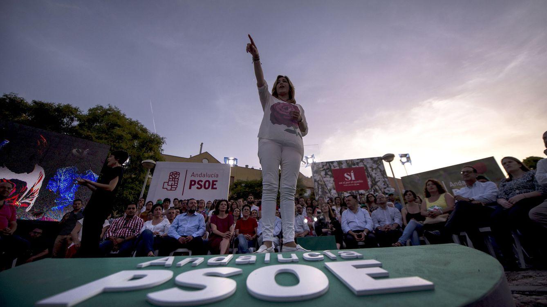 Susana Díaz recupera su agenda pero quiere mantenerse lejos del foco de la investidura